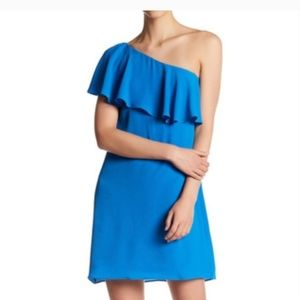 Maggy London 4 One-Shoulder Shift Formal Dress NWT